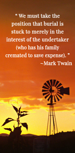 funeral director quote
